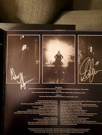 Rush Alex Lifeson & Geddy Lee Signatures Brampton, L6P