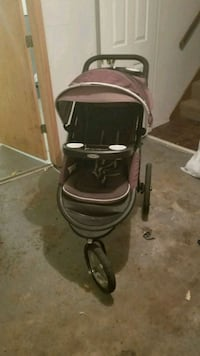black and gray jogging stroller graco Lee's Summit, 64063