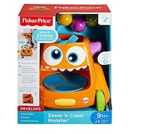 NEW - Fisher-Price Zoom n Crawl Monster BELLFLOWER