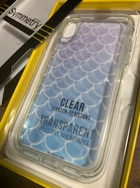 New Otterbox symmetry case mermaid scales for iphone x or xs  Enterprise, 26568