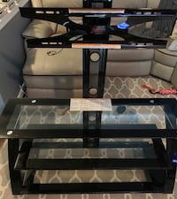 black glass top TV stand Dumfries, 22025