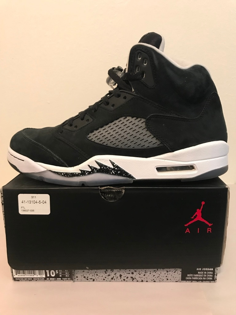 new arrival 3ece7 9cec0 ... norway air jordan 5 retro oreo sz 10.5. vnds 4815b 5a50f