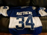 NEW Auston Mathews Jersey XL  Toronto, M3C