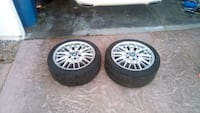 BMW - 2 M3 Rims With Tires - Both Great Condition Buy Now! Las Vegas