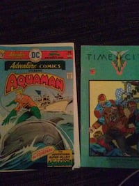 two assorted-title DC comic books