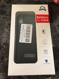 Battery case for iPhone X Monroe, 48161