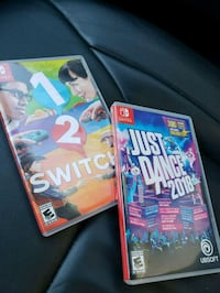 two Nintendo Wii games