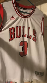 white and red Chicago Bulls 23 jersey Bend, 97702