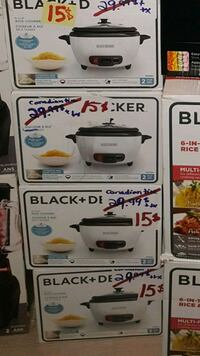 white and black Cuisinart toaster oven box Longueuil, J3Y 4L2