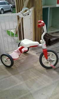 toddler's red and white trike Edmonton, T5L 2X2