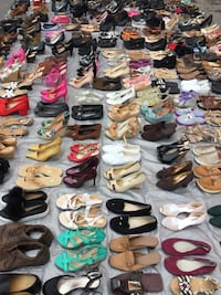 Lot of 225 mixed pairs of summer shoes  Hyattsville, 20782