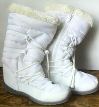 White Winter Boots - Ladies/Womens London
