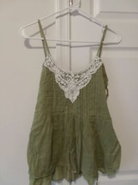 women's green spaghetti strap top Martinsburg