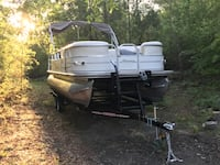 05 pontoon party barge runs and floats in good shape needs nothing ready for the lake $15,000 will entertain all offers new trailer  West Columbia, 29170