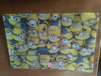 Minion mouse pad