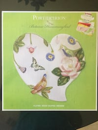 Portmerion heart shaped serving plate Dallas, 75252