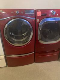 Mix and match washer and dryer set working perfectly