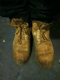 brown leather work boots Los Angeles, 90061