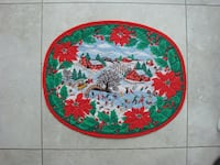 Set of 6 Table X-mas placements NEW  East Gwillimbury