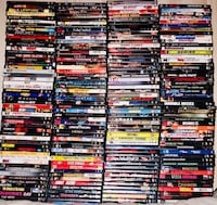 250+ movies $1 each or 200 for all Sachse, 75048