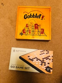 Gobblet and Go games