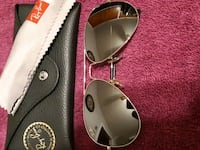 Ray ban Aviator.size 58,14. Mirror silver frame. New without tags.  Hamilton