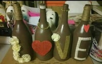 Valentine's Day Decor Bottles Pink Hill, 28572