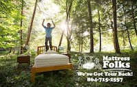 Mattresses with Financing as Low as $5-$40 Down Greenwood, 29649
