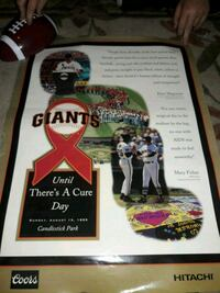 San Fransisco Giants Until there's a cure day  Sacramento, 95815