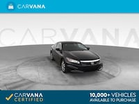 2012 *Honda* *Accord* EX Coupe 2D coupe BLACK Brentwood