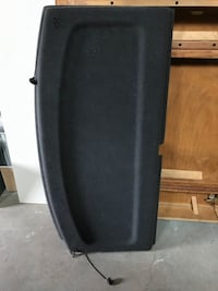 Mk6 vw golf/gti trunk hatch tray cover
