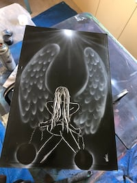 Angel Spray Paint Art Little River, 29566