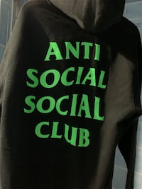 Welcome to the club - Anti social club Union City, 07087