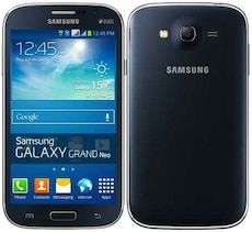 black Samsung Galaxy Grand Neo
