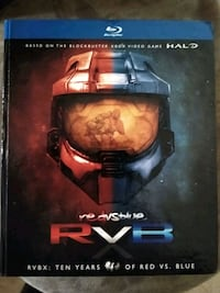 Red Vs Blue Box Set 10 Seasons Blu-Ray. Spotsylvania Courthouse, 22551