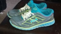 pair of blue-and-summers green Fila running shoes Kelowna, V1Y 4Y2