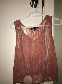 women's brown sleeveless top Calgary, T2Z 3G7