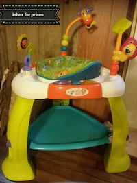 baby's white, green, and orange exersaucer Cross Plains, 37049