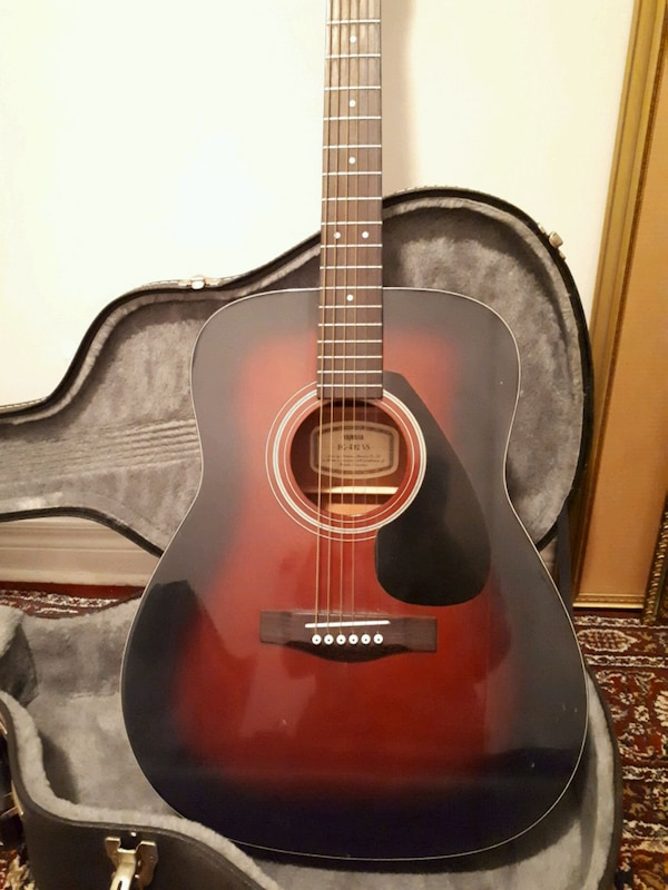 YAMAHA FG-412 VS acoustic guitar. 1