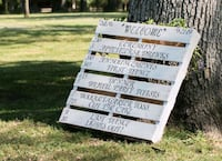 Wedding Pallet Sign Taneytown, 21787