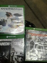 two Xbox One game cases Warren, 48089