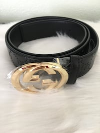 GG LOGO LUXURY UNISEX BELT