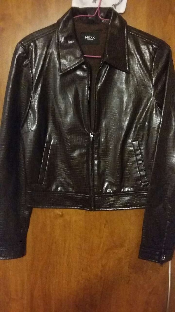 Mexx, pleather jacket 0