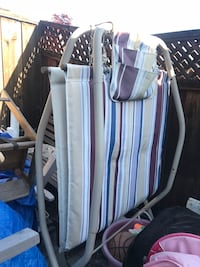 Foldable patio hammock. Great condition. Easily stored. Folds up and down. Frame in good condition  Antioch, 94509