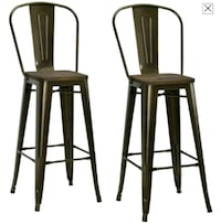 Metal Bar Stools (Set of 2) Pub chairs Toronto, M1J 2R4