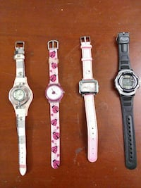 Working four assorted-color watches Toronto, M6P 3L4