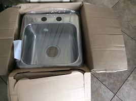 BRAND NEW KINDRED SINK DIM 15.5x15.25 INCHES.