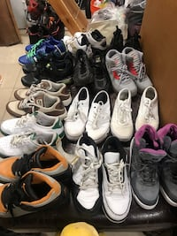 assorted pairs of shoes lot 775 mi