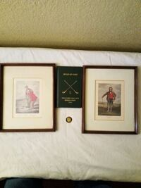 GOLF MEMORABILIA *GREAT GIFT IDEA*