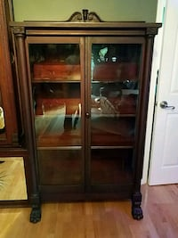 Antique empire bookcase Hightstown, 08520